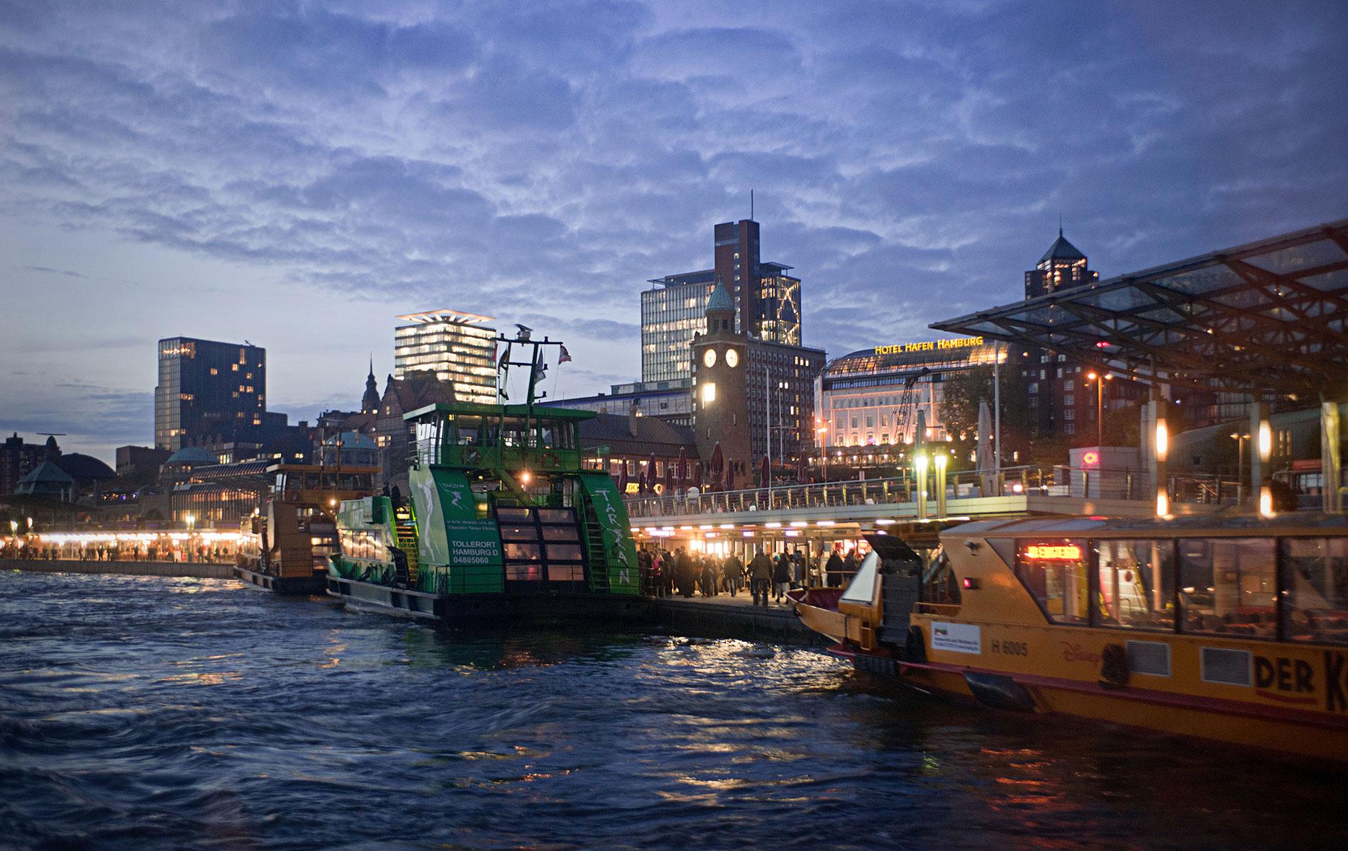 Hamburger Hafen 2012