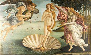 Sandro Botticelli - Die Geburt der Venus