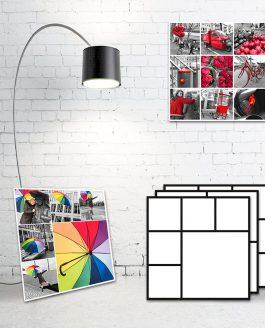 Foto Collage Vorlagen für Luminar | JPG Dateien